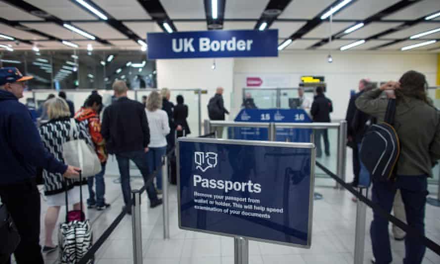 Gatwick airport border control