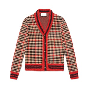 Cardigan. £585, by Gucci