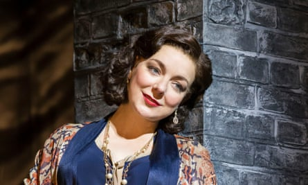 Forever the performer … Sheridan Smith as Fanny Brice.