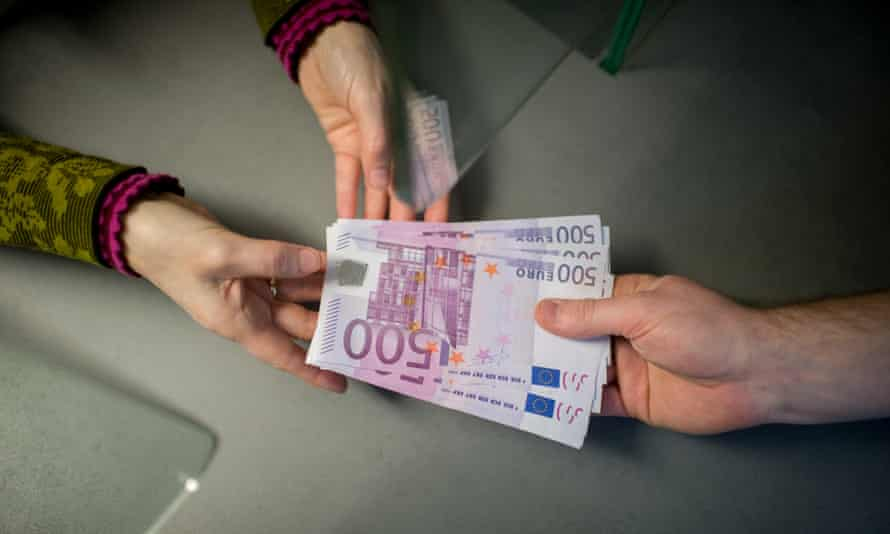 €500 notes