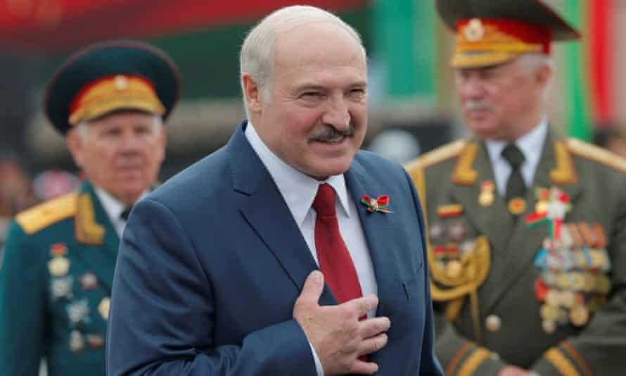 Alexander Lukashenko, the president of Belarus
