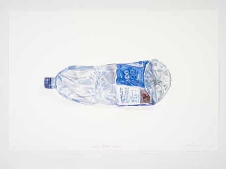 Water Bottle Bottle by Gavin Turk.