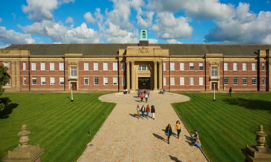 Edge Hill University, Merseyside: its vice-chancellor has acknowledged students' concerns and asked the government to act.