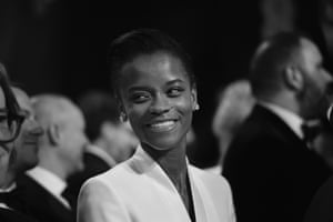 Letitia Wright, the young British star of Black Panther and Ready Player One, who took home the Bafta Rising Star award