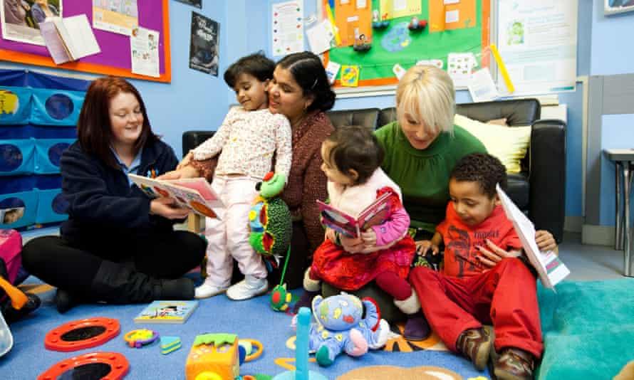 A Sure Start children's centre in Reading, Berkshire, in 2012.