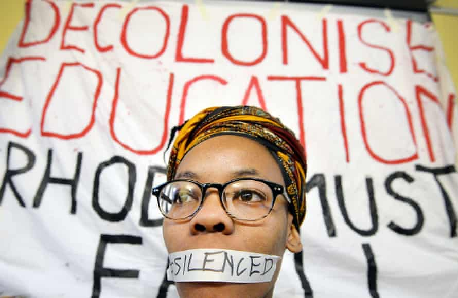 Athinangamso Nkopo from the Rhodes Must Fall campaign in Oxford