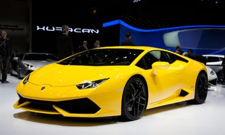 David Hines purchased a 2020 Lamborghini Huracan sports car for approximately $318,000, federal authorities allege.