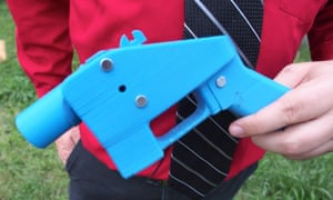 A handgun made entirely with parts from a 3D printer.