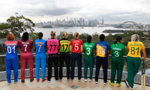 Women's cricket captains in Sydney