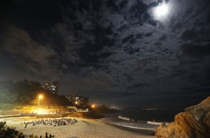 Full moon meditation in Rio