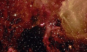 Star power: the self-destruction of a massive star, Supernova 1987-A, in the Large Magellanic Cloud, February 1987.