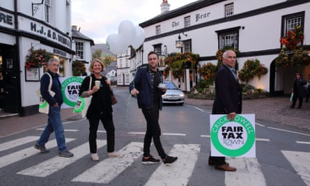 An enjoyable journey … The Town that Took on the Taxman.