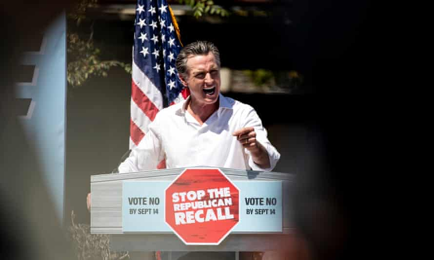 California voters will decide if Gavin Newsom will keep his job as governor.