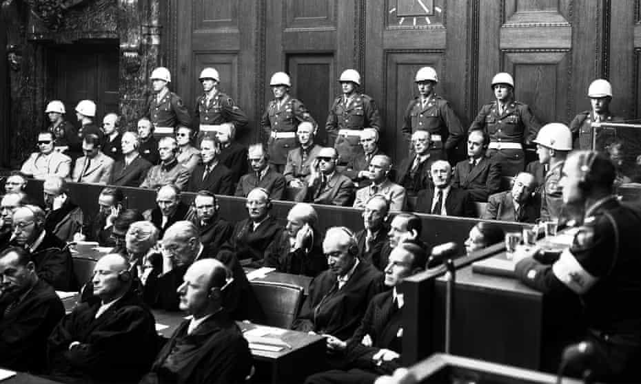 Nuremberg trials, September 1946.