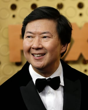 Comedian Ken Jeong starred in Kwan's sitcom, Emperor of Malibu.