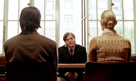 A job interview.