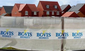 The Mellors received a letter saying Bovis had sold the freehold.