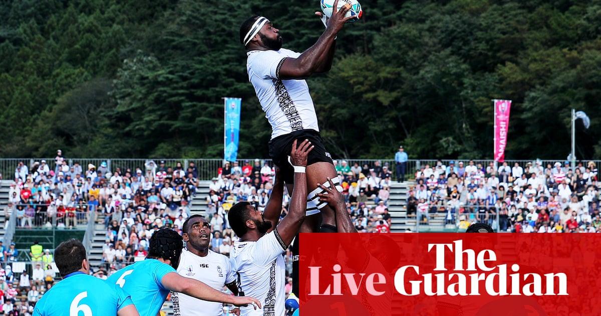 Fiji v Uruguay: Rugby World Cup 2019 – live!