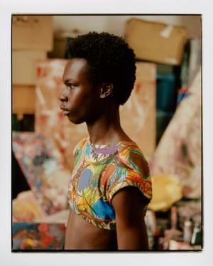 Multicolour crop top by Vivienne Westwood