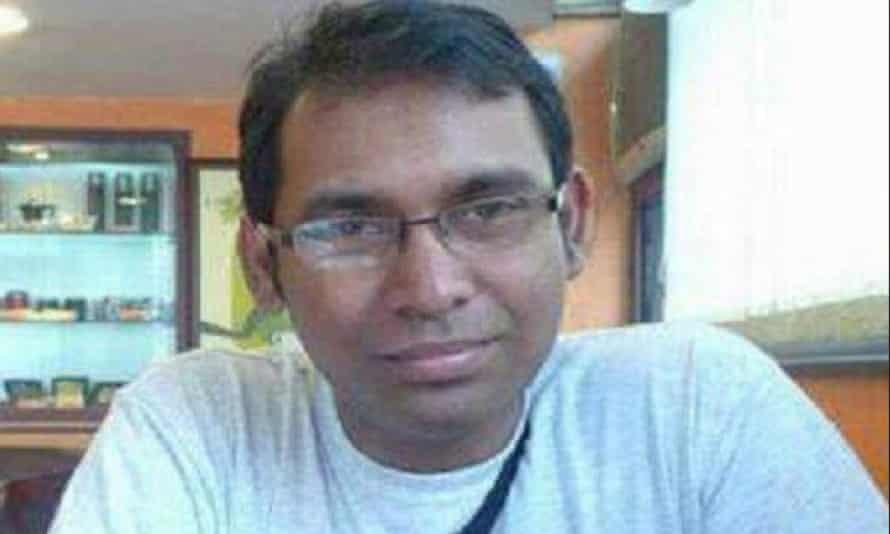 Bangladesh blogger Ahmed Rajib Haider, who was killed in February 2013.