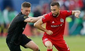 Toronto Football Club take on Columbus Crew Soccer Club during the 2019 MLS season
