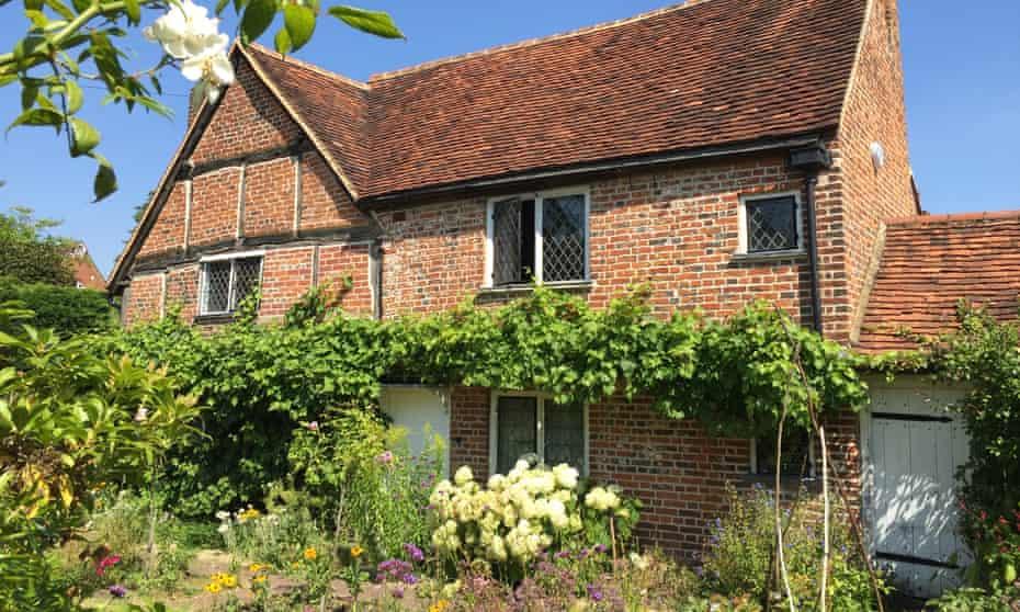 Preserving paradise... Milton's cottage and garden.