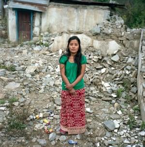 Twenty-three-year-old Indra Kumari
