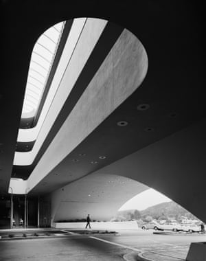 Marin County Civic Center. Frank Lloyd Wright. San Rafael, CA, 1963