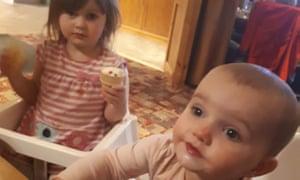 Lexi Draper (left) and Scarlett Vaughan