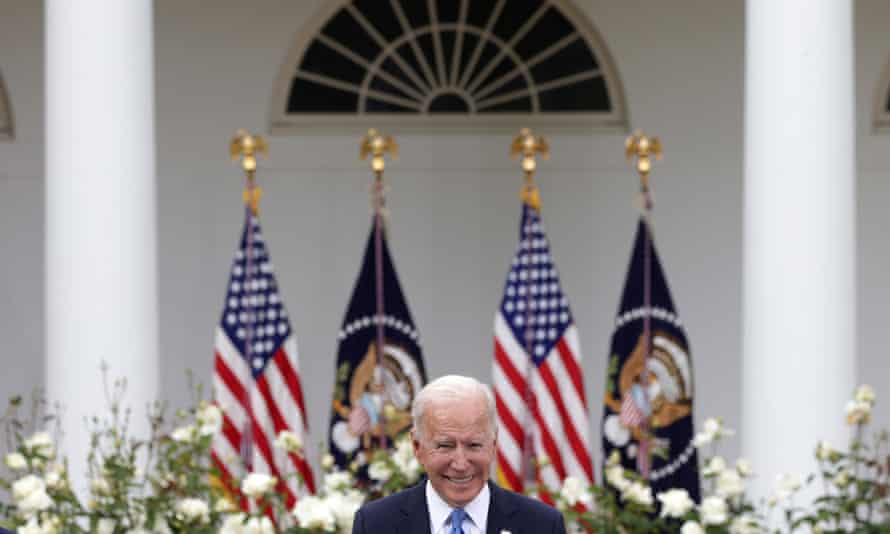 Biden at the White House on Thursday. The discussions are still in nascent stages and lawmakers have kept mum on the sticking points.
