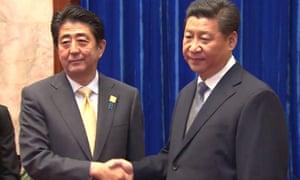 Xi Jinping Shinzo Abe