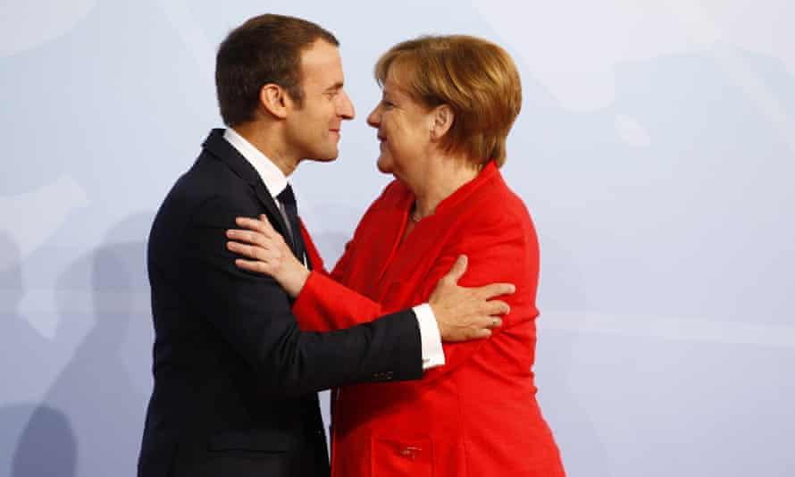 Twin drivers behind a new Europe?: Emmanuel Macron and Angela Merkel.