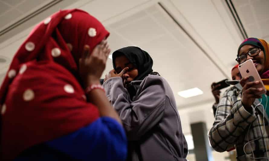 Somali family reunited
