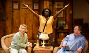 Rebecca Lacey, Michelle Asante and Mark-Hadfield in Vanya and Sonia and Masha and Spike at the Theatre Royal in Bath last JUne. The play inspired the new festival.