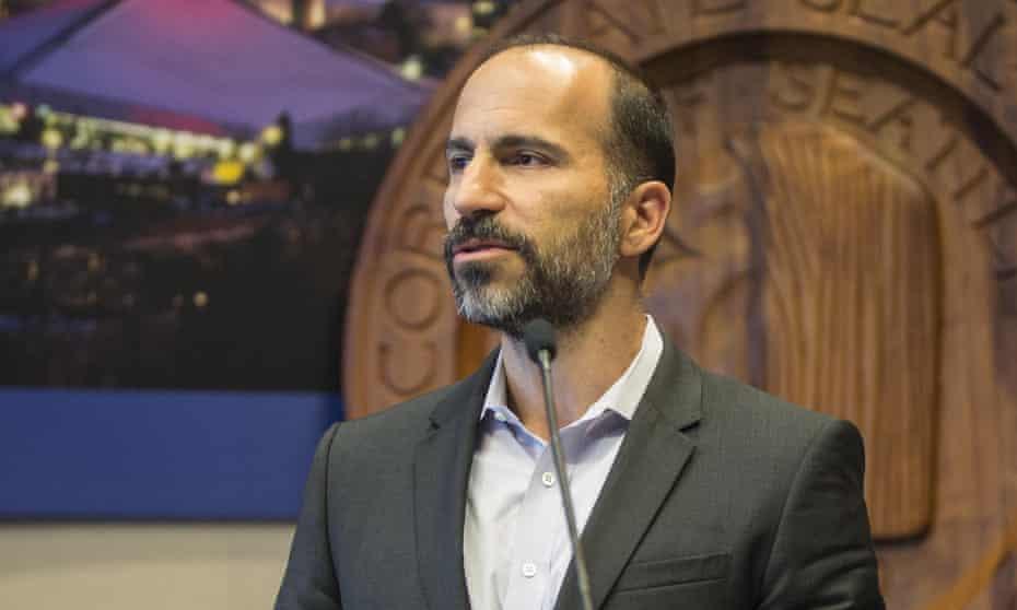 New Uber CEO Dara Khosrowshahi in 2016.