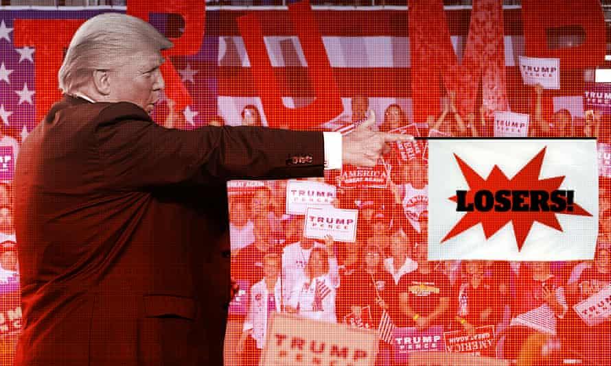 Republican presidential candidate Donald Trump insults