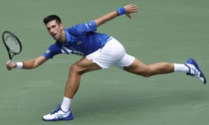 Novak Djokovic Made To Sweat But Too Good For Kyle Edmund At Us Open Sport The Guardian