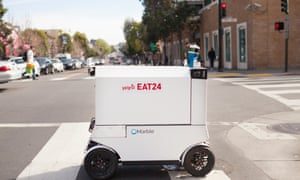 With many companies seeking to corner autonomous delivery, concerns about pavement crowding have been raised.