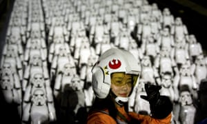 'Even the most optimistic multiplex owner wasn't prepared for the rush on Star Wars tickets.'
