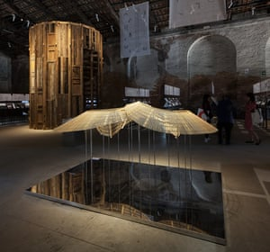 Chinese pavilion, Venice Biennale.