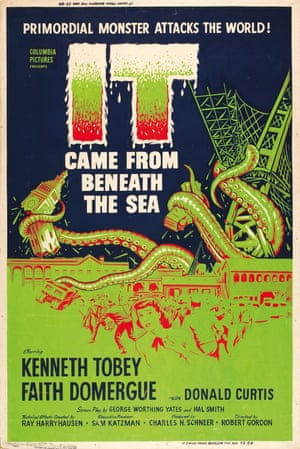 SFX Page 39: It Came from Beneath the Sea (1955) US silk-screen
