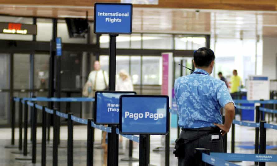 Honolulu international airport.