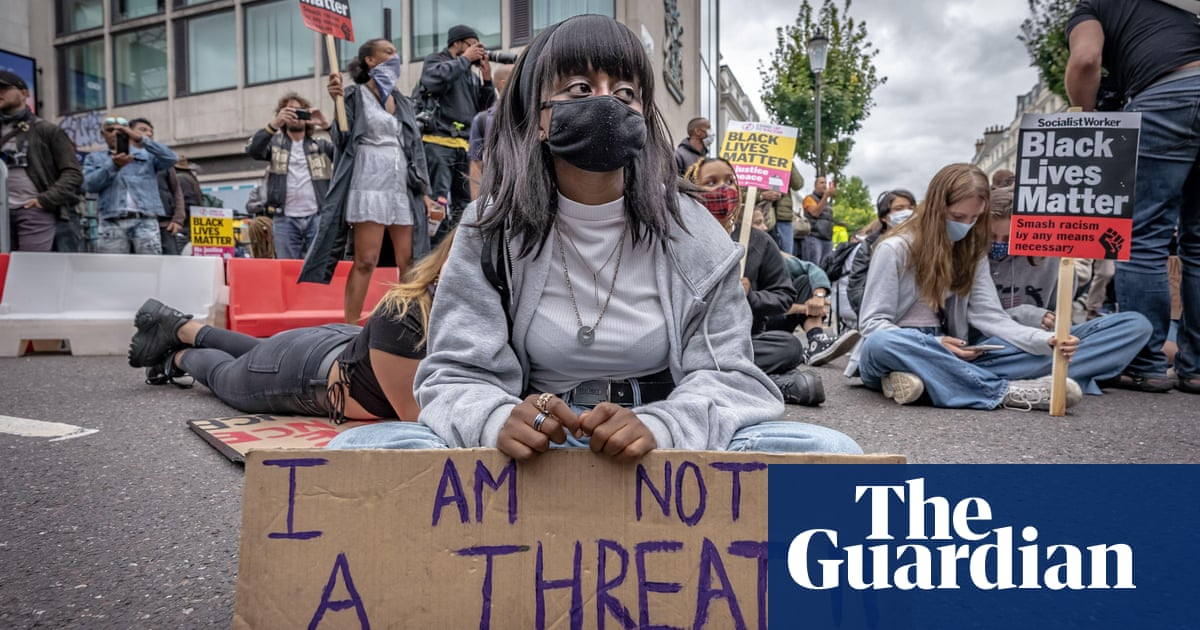 'Look at how they treat us': black Britons despair of police reform