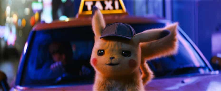 Pokemon Detective Pikachu Warner Bros. Press publicity still