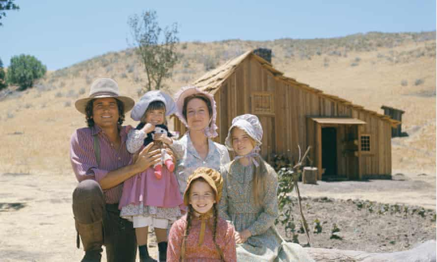 The TV adaptation of Little House on the Prairie in the 1970s.