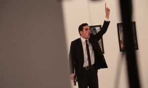 Photograph Burhan Ozbilici captured images of the killing of the Russian ambassador to Turkey at an art gallery in Ankara.