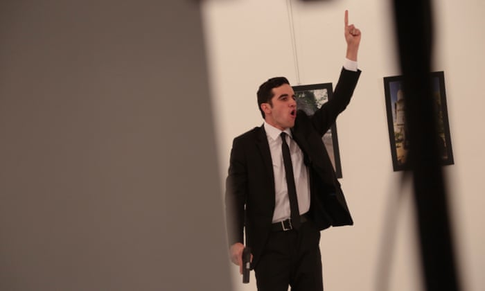 Russian Ambassador To Turkey Shot Dead By Police Officer In Ankara Gallery World News The Guardian