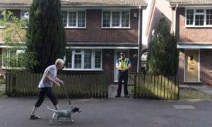 Police search the Cardiff home of Finsbury Park terror suspect Darren Osborne