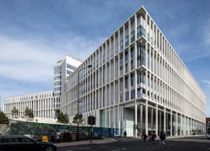 City of Glasgow College's City Campus, on the Stirling prize shortlist