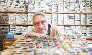 Paul Knopf at his shop in Kreuzberg.